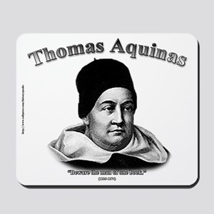 Thomas Aquinas 01 Mousepad