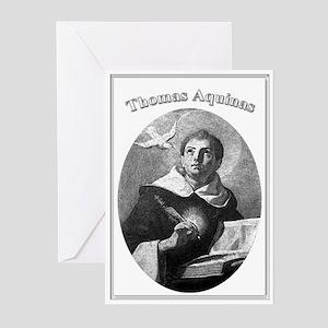 Thomas Aquinas 02 Greeting Cards (Pk of 10)