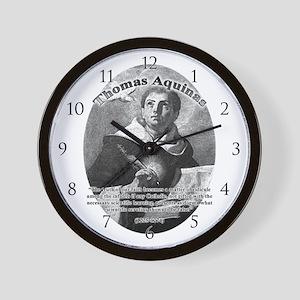 Thomas Aquinas 02 Wall Clock