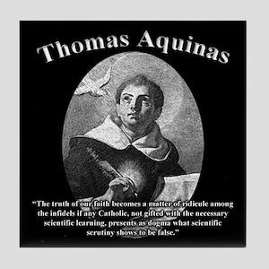 Thomas Aquinas 02 Tile Coaster
