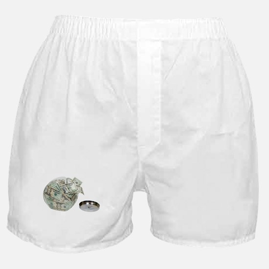 Cookie jar full of money Boxer Shorts