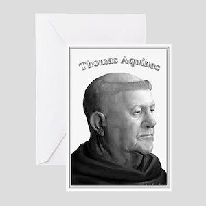 Thomas Aquinas 03 Greeting Cards (Pk of 10)