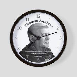 Thomas Aquinas 03 Wall Clock