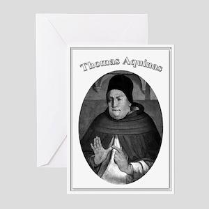 Thomas Aquinas 04 Greeting Cards (Pk of 10)