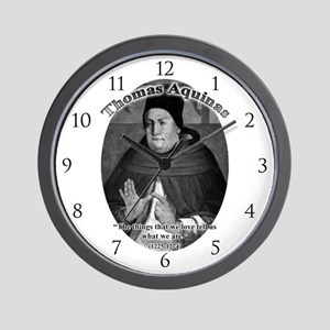 Thomas Aquinas 04 Wall Clock