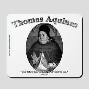 Thomas Aquinas 04 Mousepad