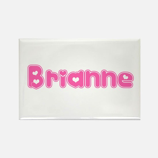 """Brianne"" Rectangle Magnet"
