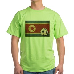 Vintage North Korea Football T-Shirt