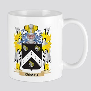 Ramsey Family Crest - Coat of Arms Mugs