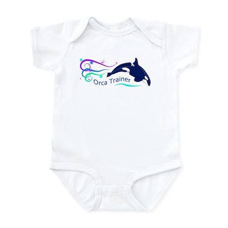 Orca Trainer Sparkle Infant Bodysuit