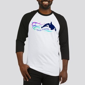 Orca Trainer Sparkle Baseball Jersey