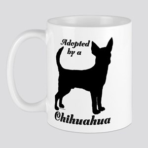 ADOPTED by Chihuahua Mug