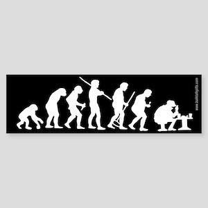 True Evolution... Sticker (Bumper)