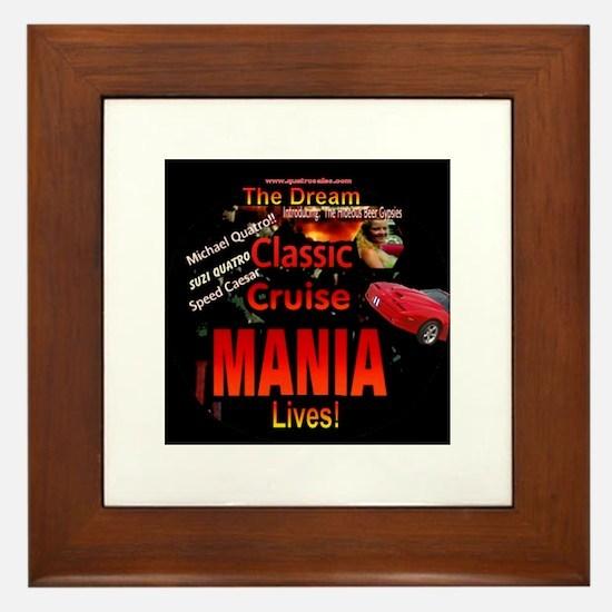 Woodward Cruise Mania Framed Tile