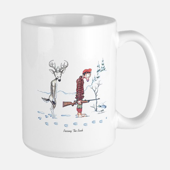 Passing The Buck Large Mug