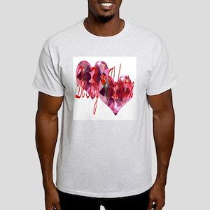 BE MY VALENTINE Ash Grey T-Shirt