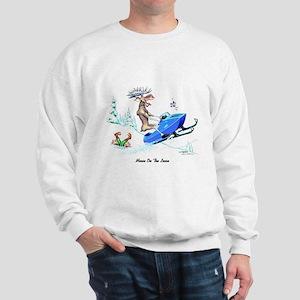 Moose on The Loose T Shirts Sweatshirt