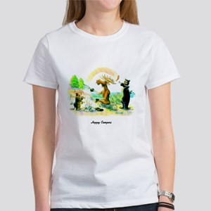Happy Campers Women's T-Shirt