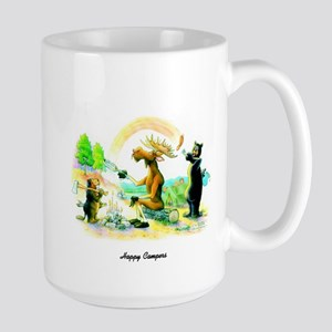 Happy Campers Large Mug