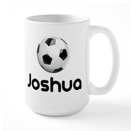 Soccer joshua Large Mug