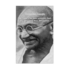 Power of Truth Gandhi Posters