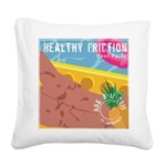 Pool Party Square Canvas Pillow