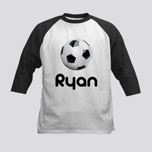 Soccer Ryan Kids Baseball Jersey