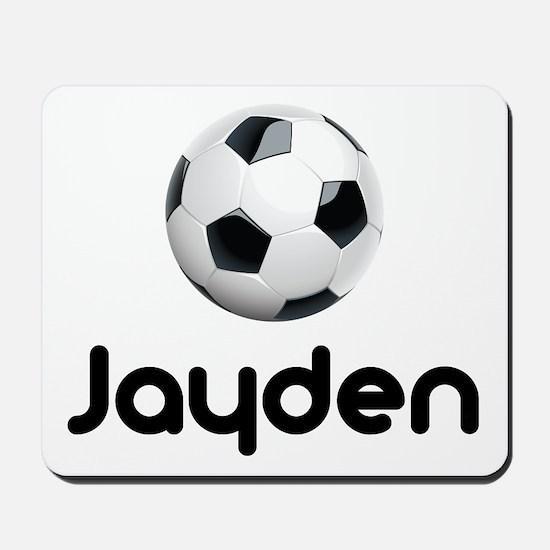 Soccer Jayden Mousepad