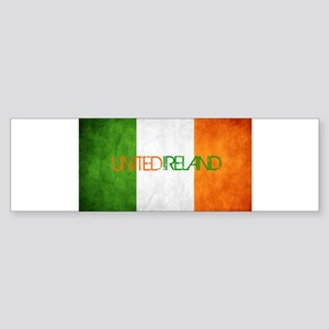 unitedireland_faded Bumper Sticker