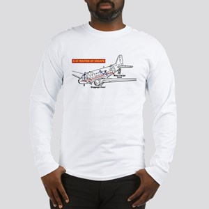C-47 Routes of Escape Long Sleeve T-Shirt