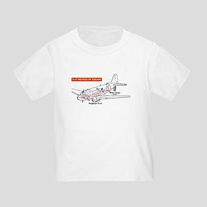 C-47 Routes of Escape Toddler T-Shirt