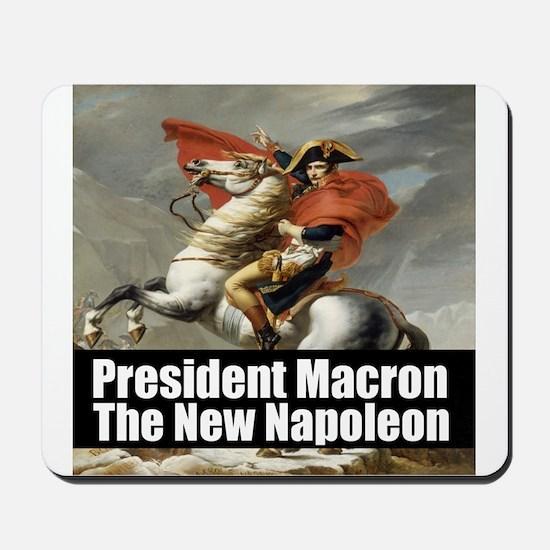 President Macron The New Napoleon Mousepad