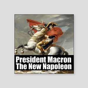 President Macron The New Napoleon Sticker
