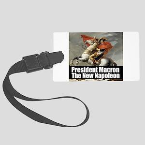 President Macron The New Napoleon Luggage Tag