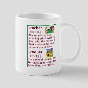 2-crochetVScroquet05182010 Mugs