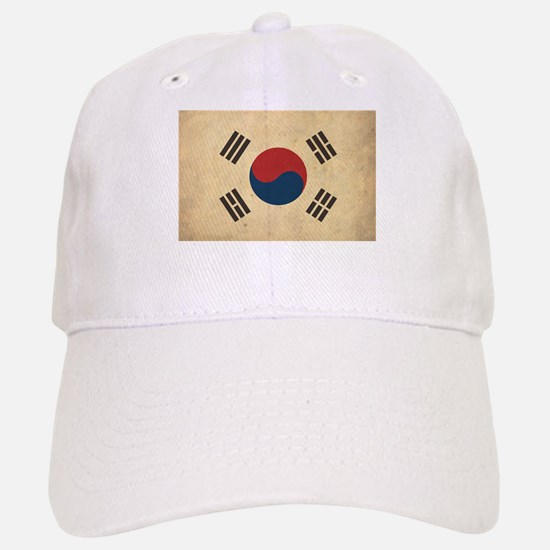 Vintage South Korea Flag Baseball Baseball Cap