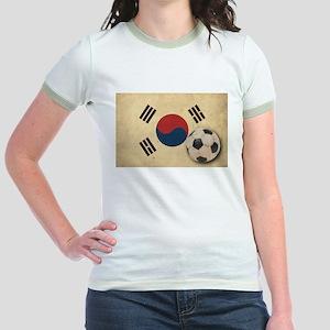 Vintage South Korea Football Jr. Ringer T-Shirt