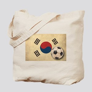 Vintage South Korea Football Tote Bag
