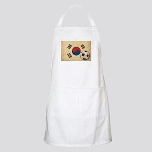 Vintage South Korea Football Apron