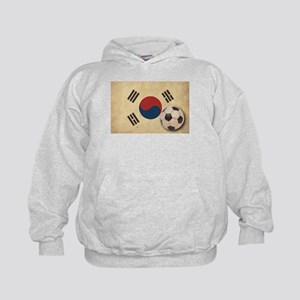 Vintage South Korea Football Kids Hoodie