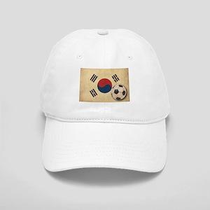 Vintage South Korea Football Cap