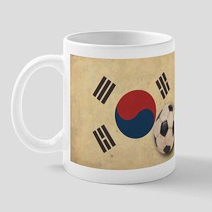 Vintage South Korea Football Mug