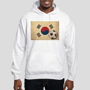 Vintage South Korea Football Hooded Sweatshirt