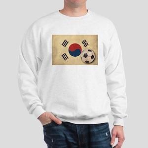 Vintage South Korea Football Sweatshirt