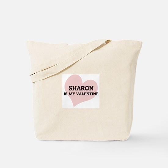 Sharon Is My Valentine Tote Bag