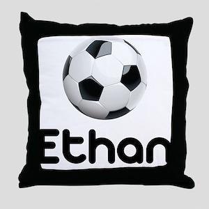 Soccer Ethan Throw Pillow