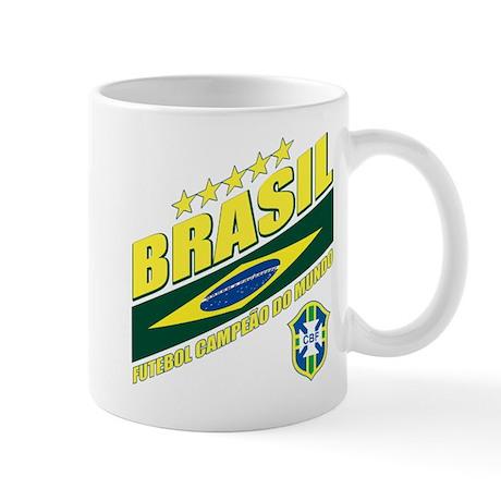 Brasilian World cup soccer Mug