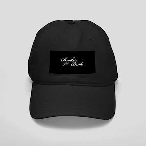 Brother of the Bride Formal Font Black Cap
