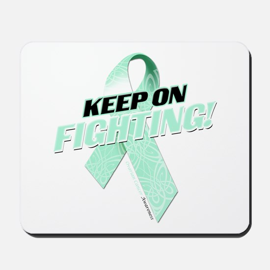 Keep on Fighting! Mousepad