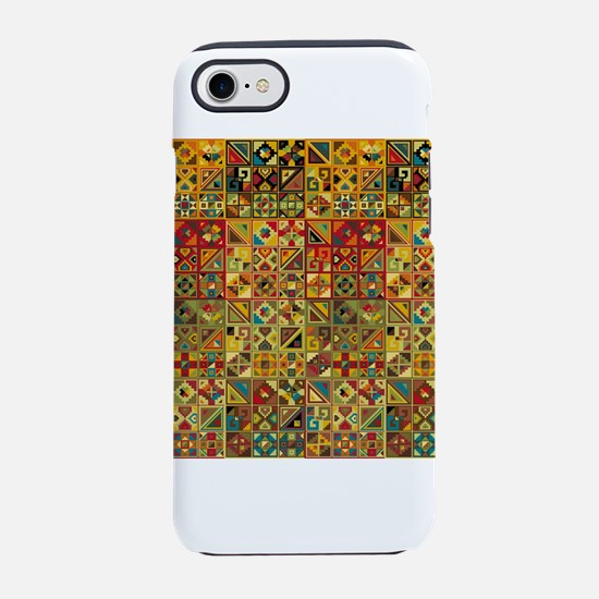 Colorful Tribal Aztec Geometr iPhone 7 Tough Case